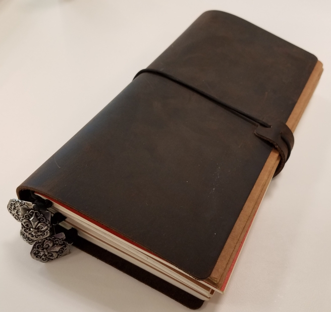 My traveler's notebook